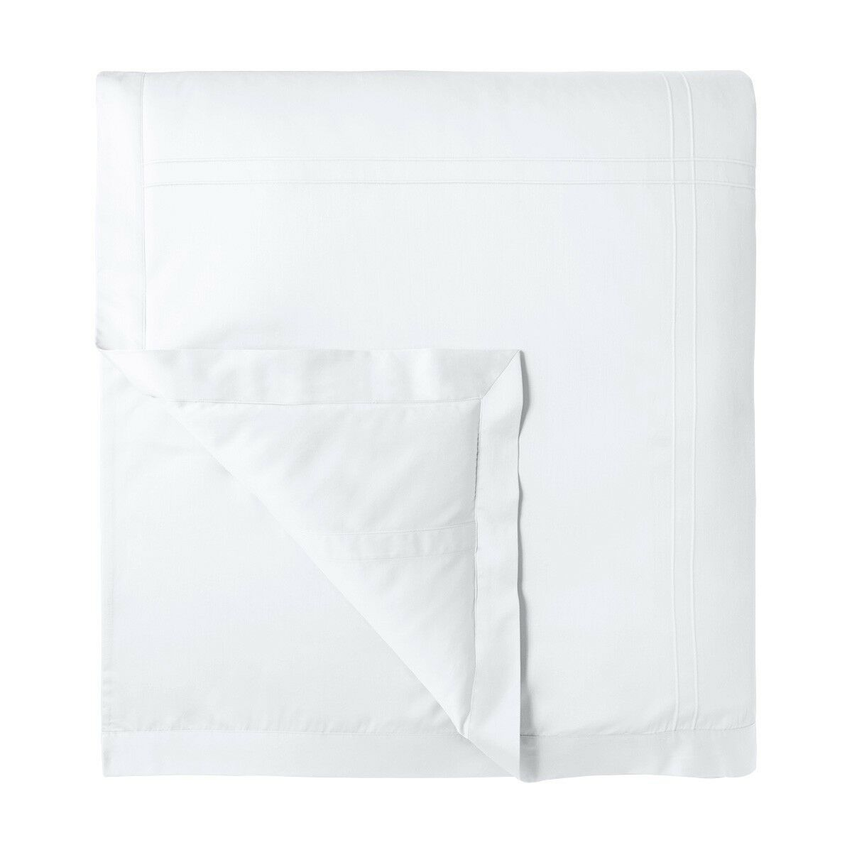 Yves Delorme Adagio Queen Duvet Cover - Weiß