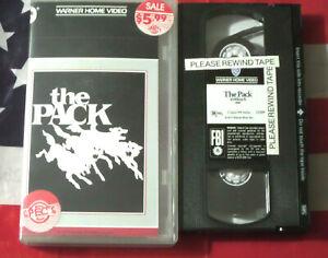 The-Pack-VHS-1977-Joe-Don-Baker-Horror-Killer-Dogs-Warner-USA-RARE