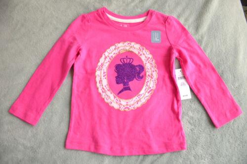 BabyGap Infant Toddler Girl Long Sleeve Cotton Shirt Top 12-18-24-2T-3T-4T-5T