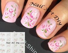 Nail Art Water Transfer Stickers-Decals Adesivi per Unghie-Bellissimi FIORI !!!