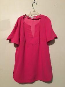 Stil Damen Turk Pink Rn 93415 6027 Top Tunika Bluse Schnitt 162125 Größe Trina Xs UqCvn
