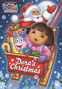 Dora the Explorer - Doras Christmas (DVD, 2009) RARE BRAND NEW