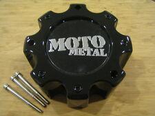 Moto Metal  909 / 957 / 959 Black Wheel Rim Center Cap MO909B8165B HE835B8165-AA