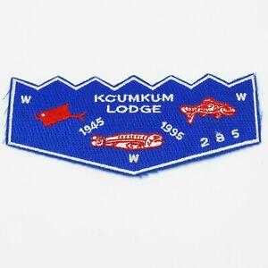 Kcumkum-Lodge-285-OA-Boy-Scout-Flap-Patch-BSA-WWW-50-years