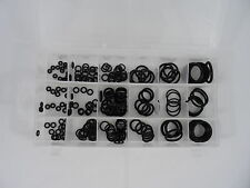 225pc Rubber O Ring Rings Assortment Plumbing Hydraulic Air Gas Oring Paintball