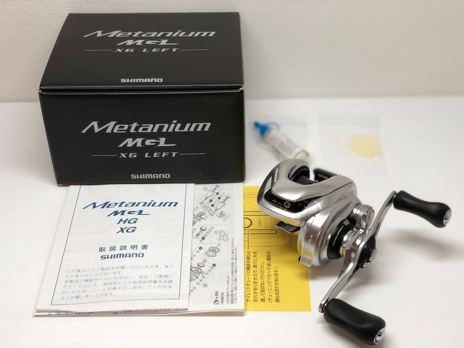 SHIMANO 16 METANIUM MGL XG LEFT  from Japan