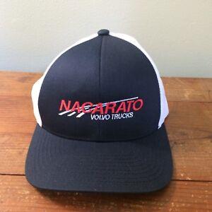 d4dcabb1e Details about Nacarato Volvo Trucks trucker hat snapback black white new