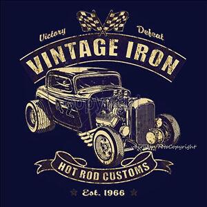 Hot Rod Sweat V8 Oldtimer Voiture Kustom Vintage Classic Voiture 1288