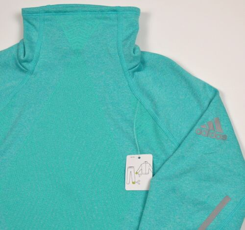 Adidas Xperior Top Long Shirt Outdoor Jumper Jacket Sweatshirt Clima Woman MINT