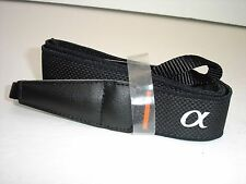 "SONY ALPHA camera strap  1 1/8"" Wide  MINT  #001467"