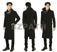 Sherlock Holmes Woolen Trench Coat Jacket Cape Robe 100% Wool Warm and Cosy
