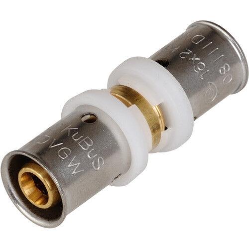 20x20mm DVGW geprüft Press Kupplung Verbindungskupplung