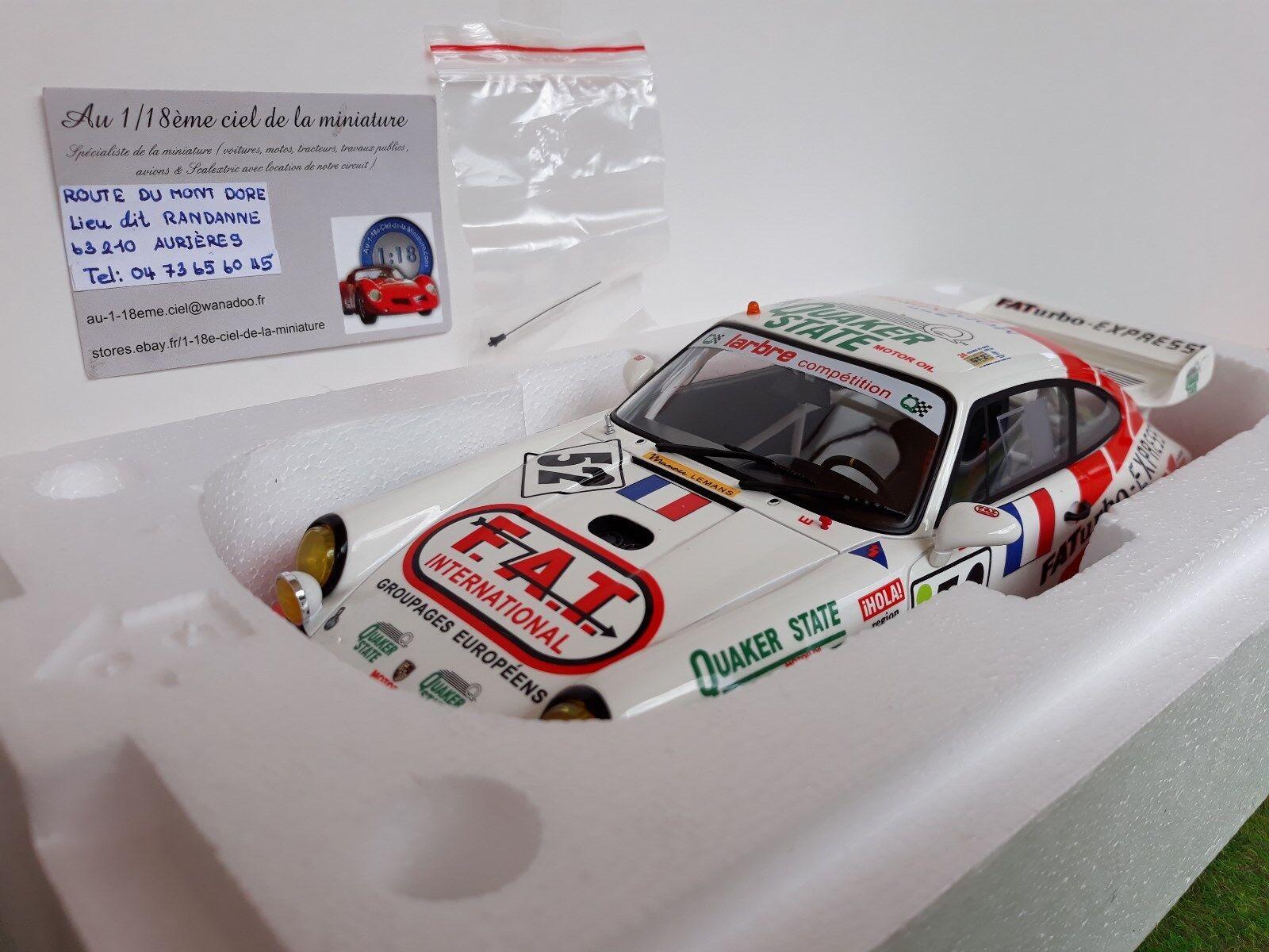 PORSCHE 911 type 964 GT RSR LE MANS 1994 # 52 1/18 GT SPIRIT GT104 voiture mini.