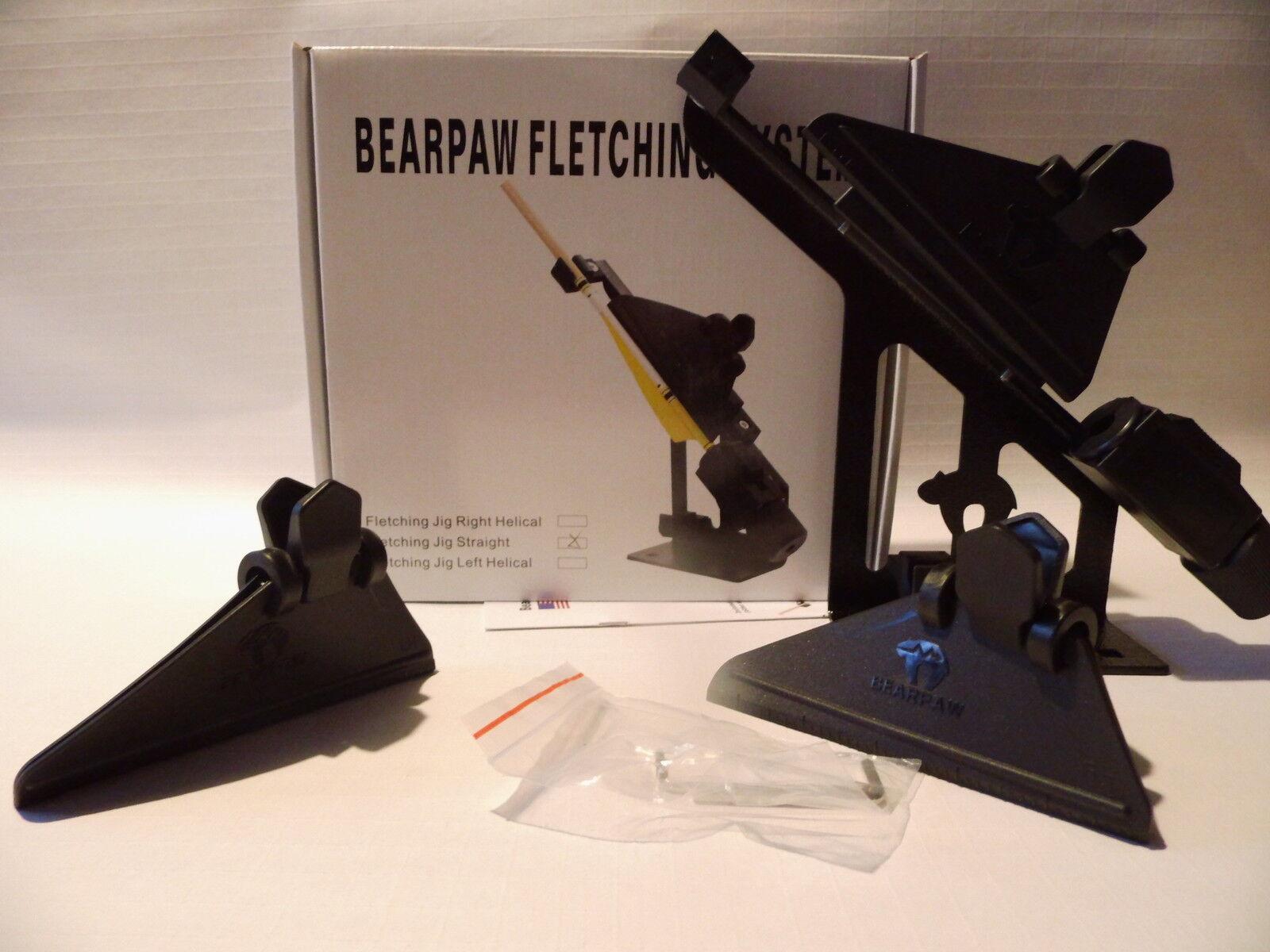 Bearpaw Befiederungsgerät Deluxe II Klammer gerade + 10  Super Glue Kleber