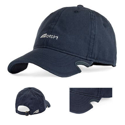 d0d3c55772222 Notch Navy Dad Hat Baseball Cap Adjustable Adjustable Adjustable w Faded  Finish   Weiß Stitched Logo