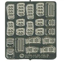 The Model Car Garage MCG-2257 Tuner Series Custom Pedals  for 1/24-1/25 sc kits