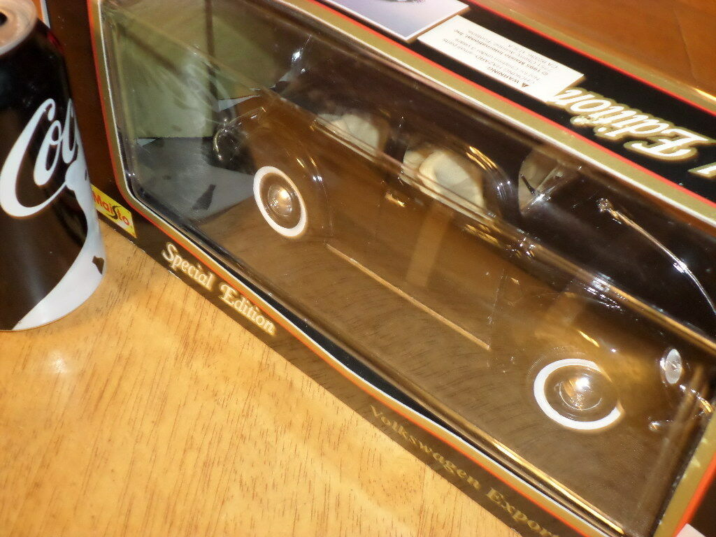 1951 VOLKSWAGEN BUG, Die Cast Metal Factory Factory Factory Made MAISO Toy Car, SCALE  1 18 ba0b02