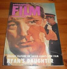 PHOTOPLAY MAGAZINE JAN 1971 RYAN'S DAUGHTER FILM FRONT COVER