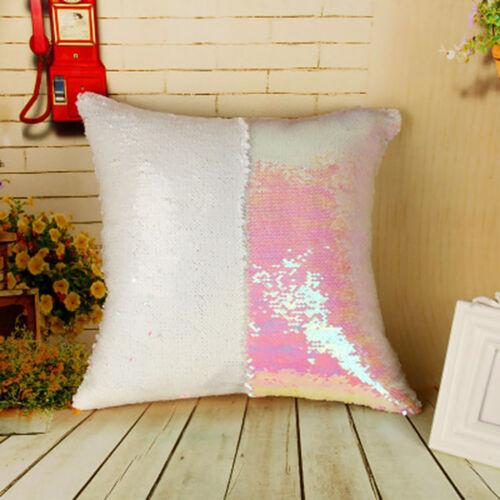 Mermaid Sequin Sofa Cushion Cover Sparkle Pillowcase Pillow Sham DYI Paint Set