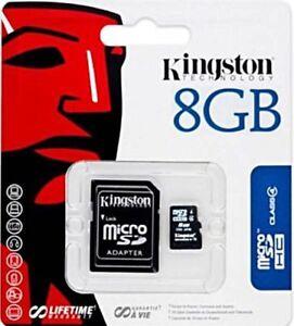 8GB-Micro-SD-Speicherkarte-KINGSTON-MicroSD-Karte