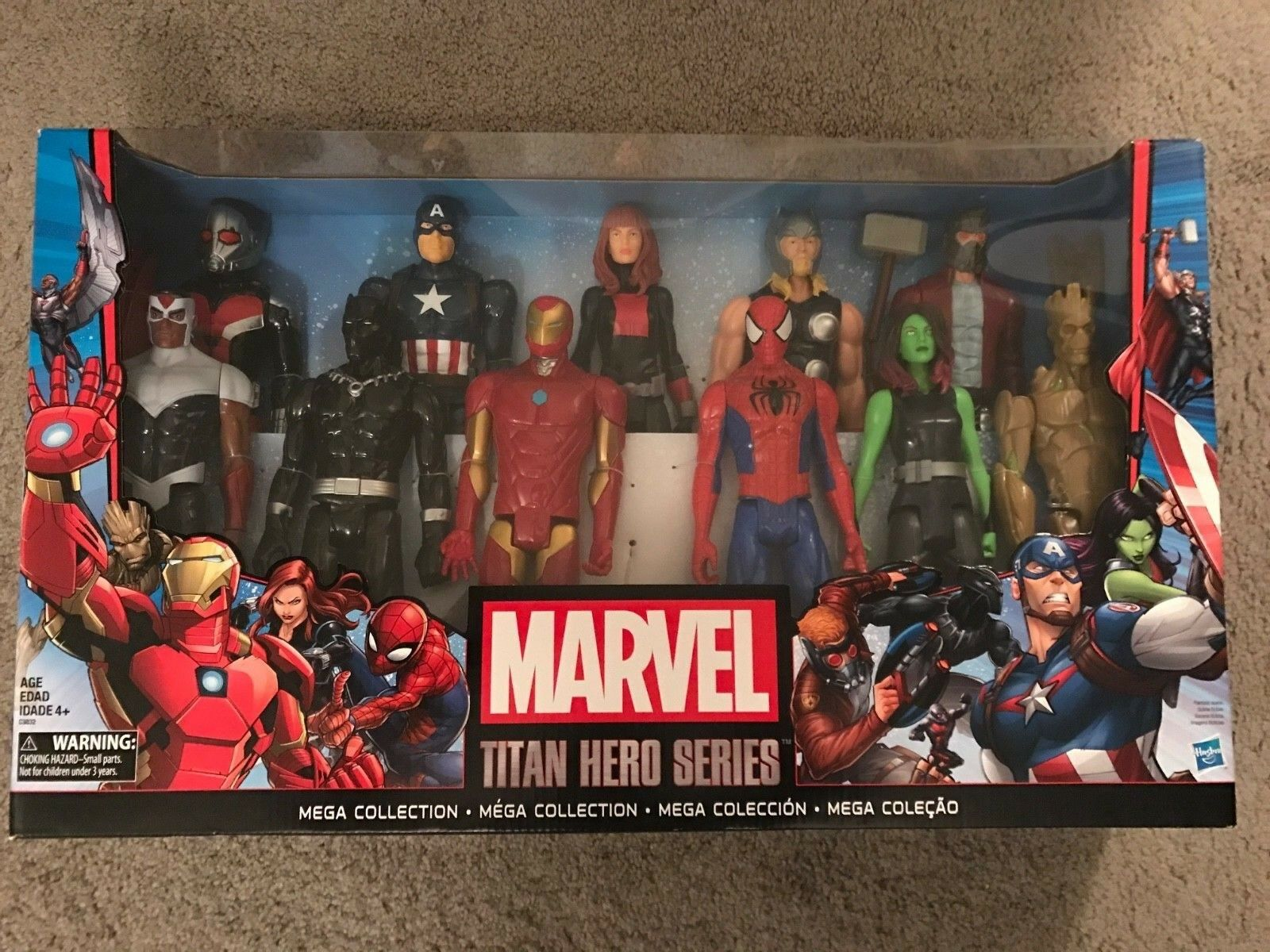 TOY  MARVEL  Action Figures TITAN HERO SERIES. Free shipping
