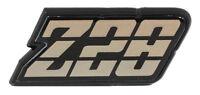 1980 1981 Camaro Z-28 Gas Fuel Door Emblem Z28 Gold Tri Color