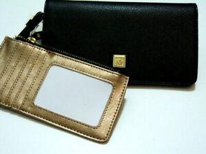 NWT * Fantastic 2 in 1 Anne Klein folded wallet + extra inside CC wallet AKM2300