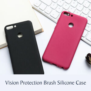 best sneakers 72ac9 a4d06 Details about Cover Case Silicone Gel Rubber Matt for Huawei P Smart