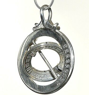 Shepherd's Watch Sundials Silver Selina Necklace Chain Jewelry Pendant Aesthetic