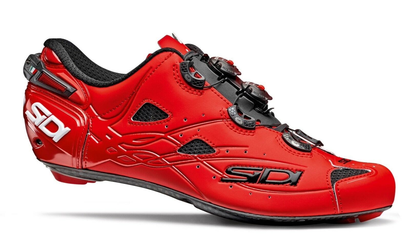 shoes SIDI SHOT red OPACO Size 45.5