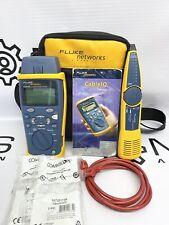 Fluke Networks Cable Iq Ciq 100 Cableiq Kit Intellitone 200 Qualification Tester