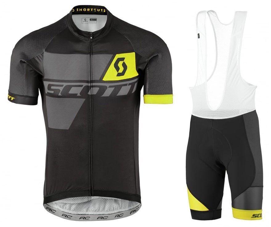 Mens Cycling Jersey  Shorts Kits Bicycle Riding Short Sleeve Shirt Pad Tights Set  the newest