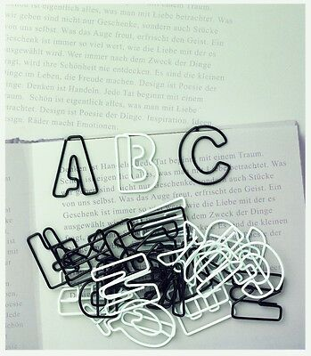 Räder Paper /& Poetry Büroklammern Noten