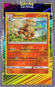 Verzamelingen Carte Pokemon ARCANIN 22/149 Holo Soleil et Lune 1 Française NEUF