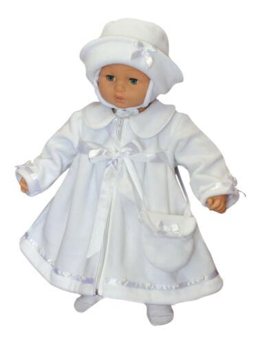 SET Mantel Hut Tasche Taufe Baby Taufmantel Festmantel Taufjacke Herbst Frühling