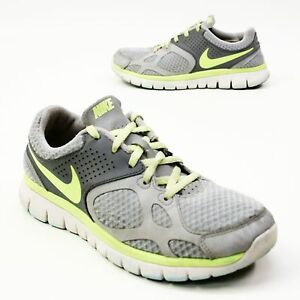 Nike Size 8 Women s Running Shoes 003 Gray Neon #2: s l300