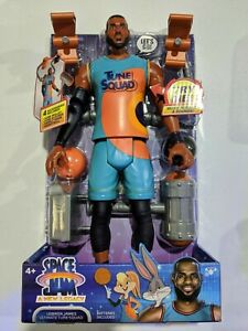 6pc Space Jam 2: A New Legacy Action Figure Lebron James Head White Mamba Lot