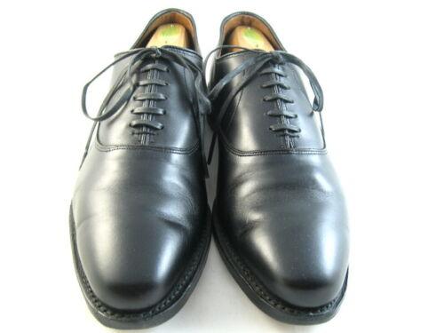 """Allen Edmonds """"CARLYLE"""" Oxfords 9 D Black  (883)"""