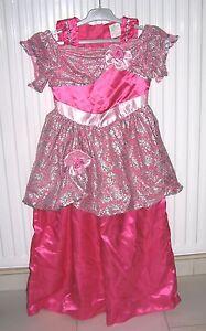 Robe-de-princesse-fille-en-satin-rose-5-7-ans