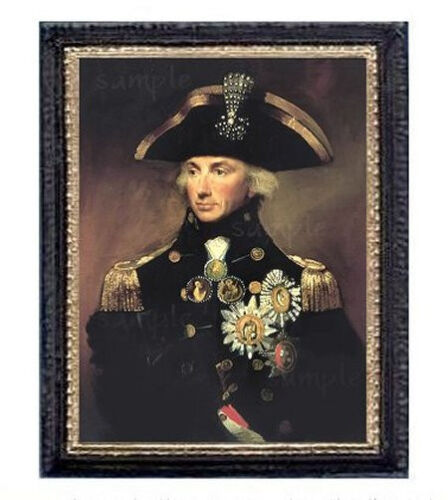 English Naval Officer Miniature Dollhouse  Picture