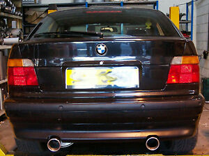 bmw 318i compact (e36) custom cat back stainless steel exhaustimage is loading bmw 318i compact e36 custom cat back stainless