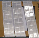"""Silver gloss REFLECTIVE sew on TAPE PVC 3'x2"""""""