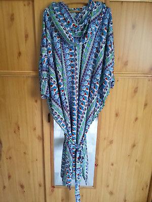 Damen Kleid Gr.38/40 Takschita Dfin Jelaba Abaya Kaftan Strandkleid Afrika AusgewäHltes Material