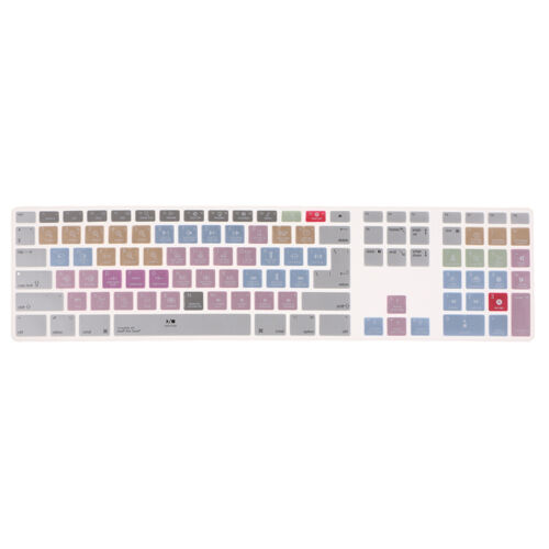 Keyboard Cover Ductility Skin for Apple Macbook Pro MAC G6 Avid Pro Tools