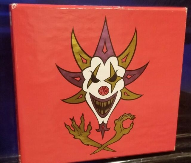 Insane Clown Posse - The Mighty Death Pop RED CD set twiztid psychopathic rydas
