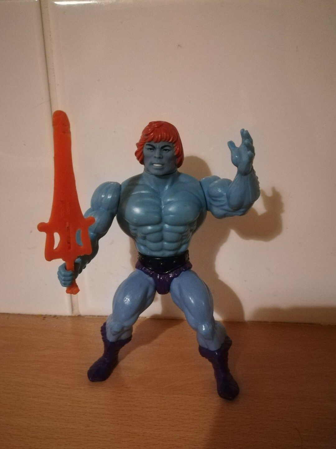 HE-MAN AND THE MASTERS OF THE UNIVERSE FAKER HE-MAN _VINTAGE BY MATTEL 1981