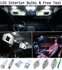 New Interior Car LED Bulbs Light KIT Package Xenon White 6000K For VOLVO XC 90
