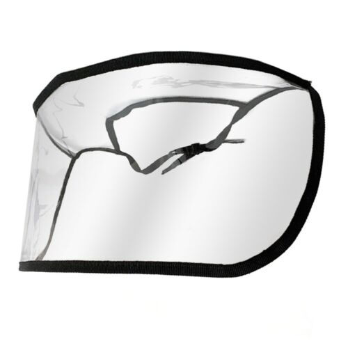 Anti-fog Full Face Shield Cover Hat Clear Visor Oil Fume Protection Flip Up Cap