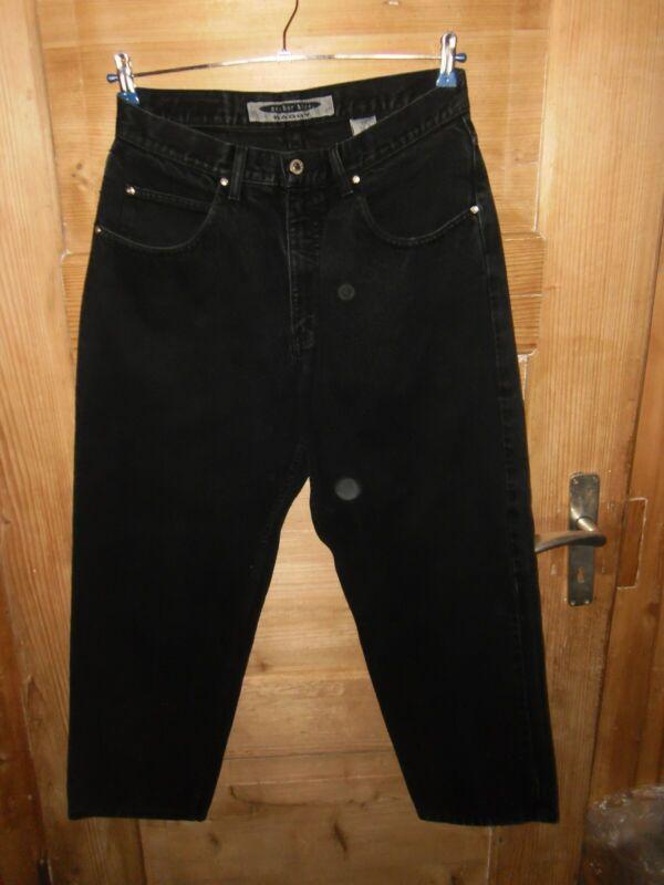 Herren Vintage 90er Jahre Jeans Gr. W34/l30 ** Anchor Blue ** Schwarz Top Zust.