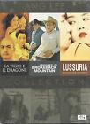 3 Dvd Video Box Cofanetto LA TIGRE E IL DRAGONE LUSSURIA I SEGRETI... di Ang Lee